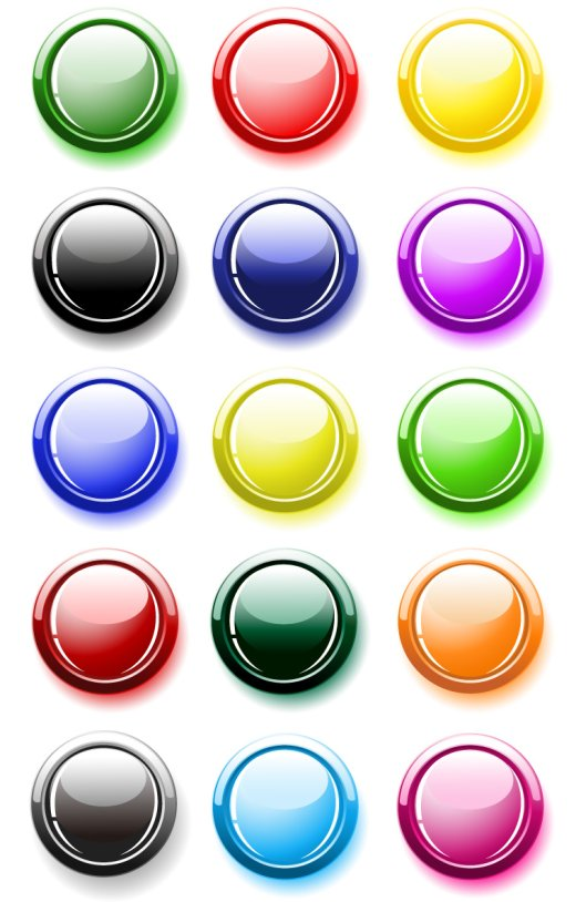 colorful-crystal-buttons-vector-graphics