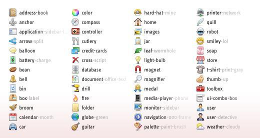 More than 2500 small icons, beautiful small web icons, small icons are in