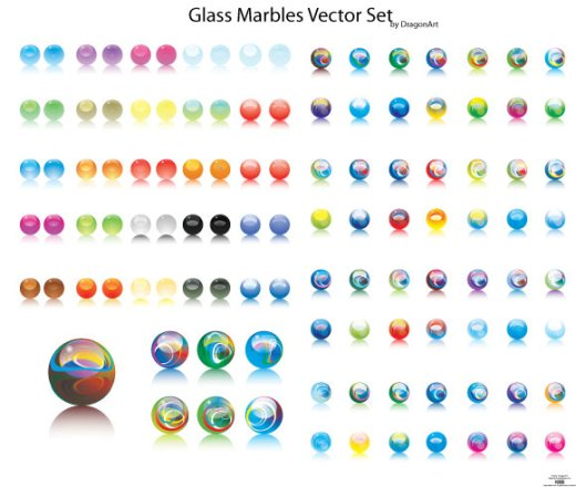 vector marbles