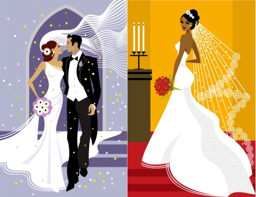 wedding-vector-illustrations